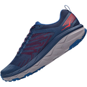 Hoka One One Challenger ART 5 Wide Chaussures Homme, dark blue/high risk red